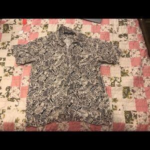 Newport Blue Island Brand Button up shirt